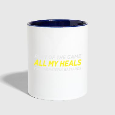 Healer Support Mains (Salty) - Contrast Coffee Mug