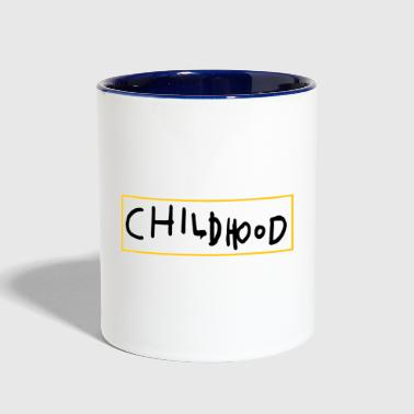 CHILDHOOD SIMPLE - Contrast Coffee Mug