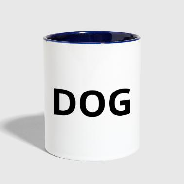 Dog DOG - Contrast Coffee Mug