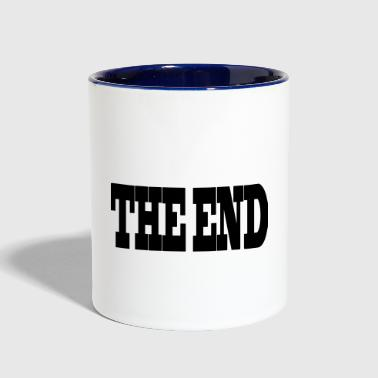 THE END - Contrast Coffee Mug