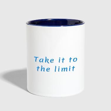 Take it to the Limit - Contrast Coffee Mug