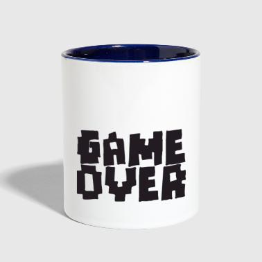 GAME OVER - Contrast Coffee Mug