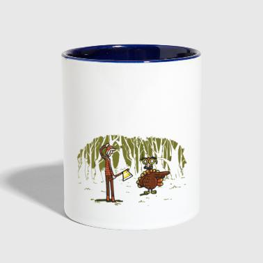 Over there - Contrast Coffee Mug