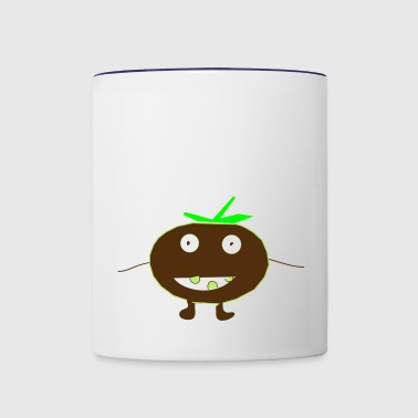 tommy tomato - Contrast Coffee Mug