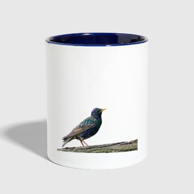 Sparrow Bird-Great Sparrow Clothing/Accessories - Contrast Coffee Mug