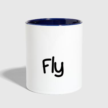 Fly - Contrast Coffee Mug