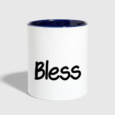 Bless - Contrast Coffee Mug