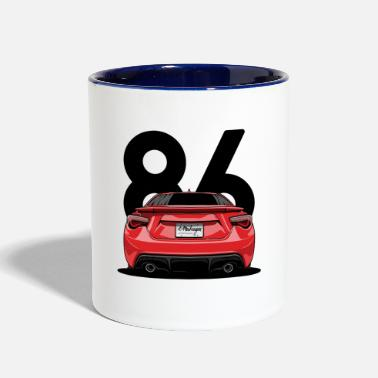 Automobile automobile - Contrast Coffee Mug