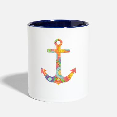 Anchor anchor - Contrast Coffee Mug