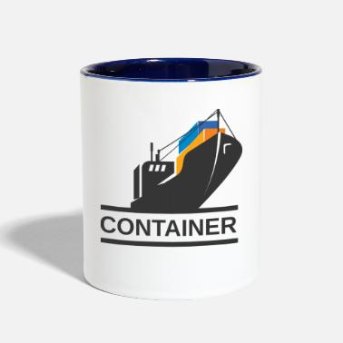 Container Container Ship - Contrast Coffee Mug