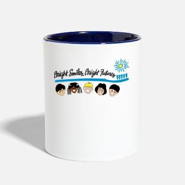 Bright Bright Smiles Bright Futures - Contrast Coffee Mug