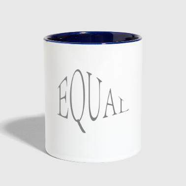 equal - Contrast Coffee Mug