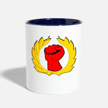 Fist fist - Contrast Coffee Mug