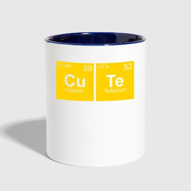 Cute chemistry science student - Contrast Coffee Mug