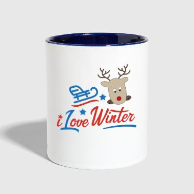 Winter winter - Contrast Coffee Mug