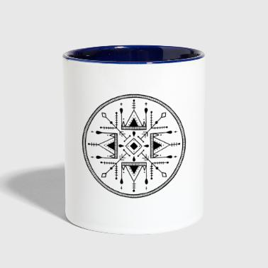 The circle - Contrast Coffee Mug