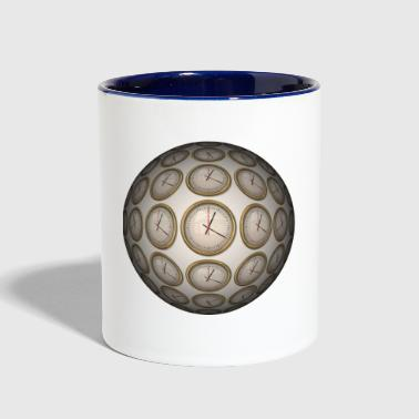 Clock Clocks - Contrast Coffee Mug