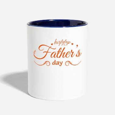 Fathers Day father day - Contrast Coffee Mug