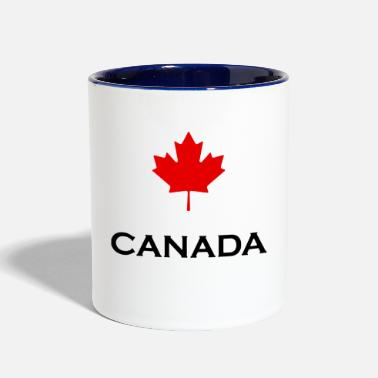 Maple Leaf maple leaf - Contrast Coffee Mug
