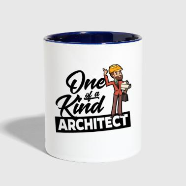 Proud Architect - One of Proud kind - Contrast Coffee Mug