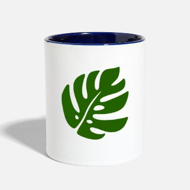 Sheet sheet in green - Contrast Coffee Mug
