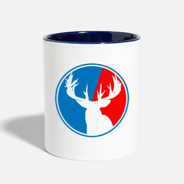 Deer Hunting Patch Deer Hunting Patch 2 - Two-Tone Mug
