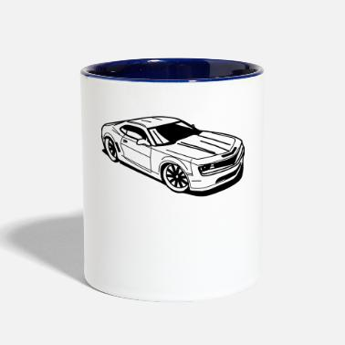 Muscle Car Camaro - Two-Tone Mug