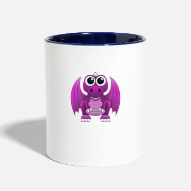 AntiChat Upgraded Pink Dragon Avatar - Contrast Coffee Mug