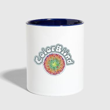 COLOR BLIND - Contrast Coffee Mug