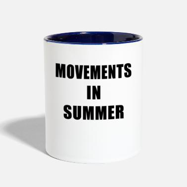 Movement Movements In Summer - Contrast Coffee Mug