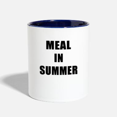 Meal Meal In Summer - Two-Tone Mug