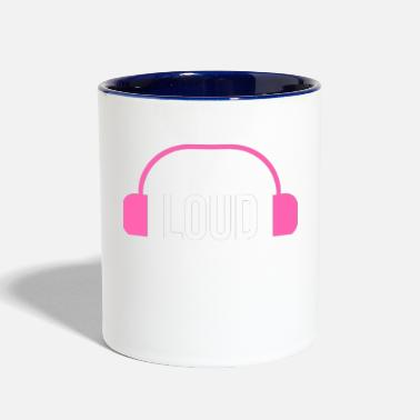 Loud loud - Contrast Coffee Mug