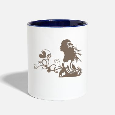 Romantic Romantic - Two-Tone Mug