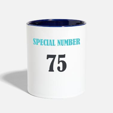 Special Number special number 75 - Two-Tone Mug