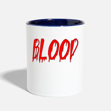 Blood blood - Contrast Coffee Mug