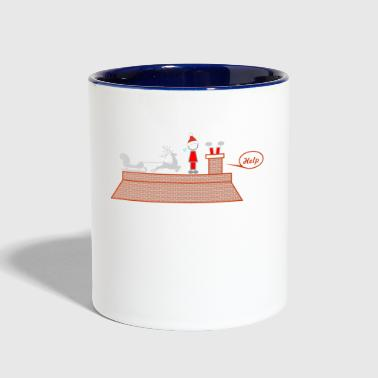 be careful - Contrast Coffee Mug