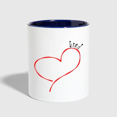 Kind Heart - Contrast Coffee Mug