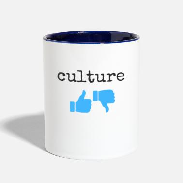 Culture culture - Contrast Coffee Mug