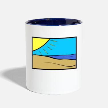 Beach Beach - Contrast Coffee Mug