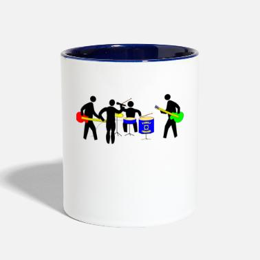 Band band - Contrast Coffee Mug