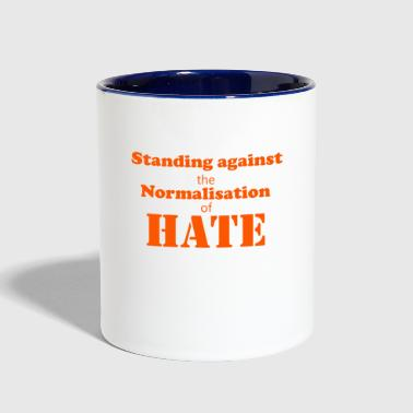Standing against - Contrast Coffee Mug