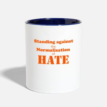 Against Standing against - Contrast Coffee Mug