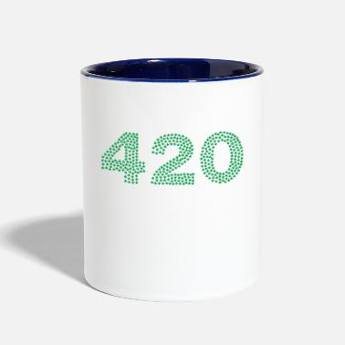 Hemp 420 hemp - Contrast Coffee Mug