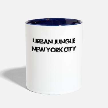 New York City Urban Jungle - New York City - Contrast Coffee Mug