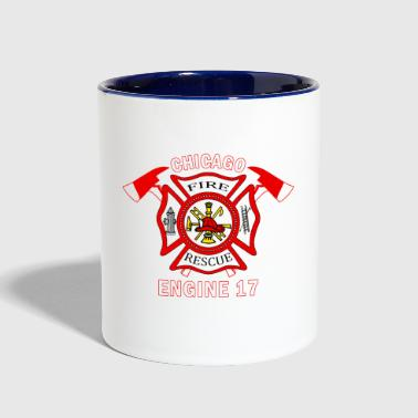Chicago FIRE RESCUE CHICAGO - Contrast Coffee Mug