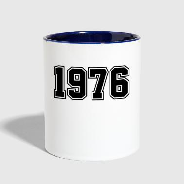 1976 | Year of Birth | Birth Year | Birthday - Contrast Coffee Mug