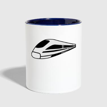 Train - Contrast Coffee Mug
