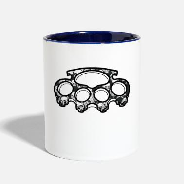 Knuckle Skull Knuckles - Contrast Coffee Mug