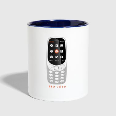 The iCon - Contrast Coffee Mug