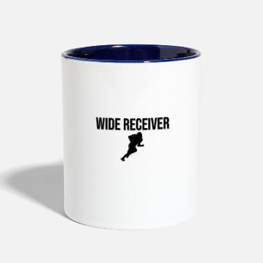 Receiver Wide Receiver - Two-Tone Mug